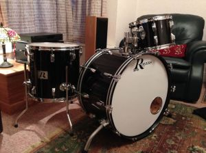 Rogers X-P8 'Big R' Drum kit, Phil Martini .com