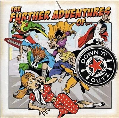 Phil Martini /Joe Elliott's Down'N'Outz cover art