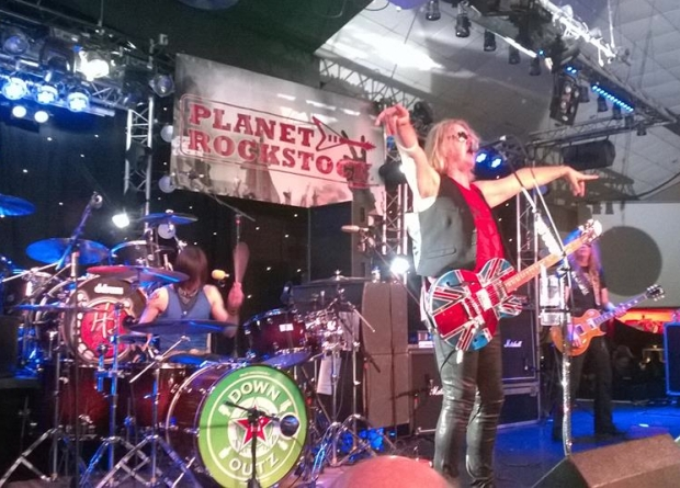Phil Martini, Joe Elliott, Down N Outz, Planet Rockstock 2014