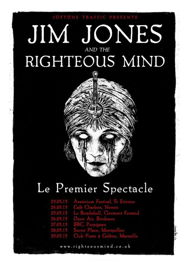 jim Jones and the Righteous Mind:France May 2015:philmartini.com