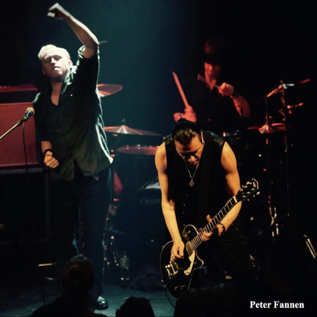 Spear Of Destiny, Live in 2017, UK Tour, Kirk Brandon, Phil Martini drummer, Craig Adams, Adrian Portas, Paiste, Vic Firth, Aquarian, Mapex, Ludwig