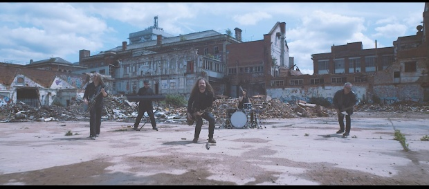 Wayward Sons, Until The End, promo video, Zombie apocalypse, Ghosts Of Yet To Come, Toby Jepson, Phil Martini, Sam Wood, Nic Wastell, Dave Kemp, Little Angels, Joe Elliott's Down N Outz, Spear Of Destiny, Quadrology, Paiste Cymbals, Vic Firth drumsticks, Aquarian heads, Rogers drums, Ludwig Black Beauty, new band alert, Devils Gate Media, Planet Mosh, Hard Rock Hell