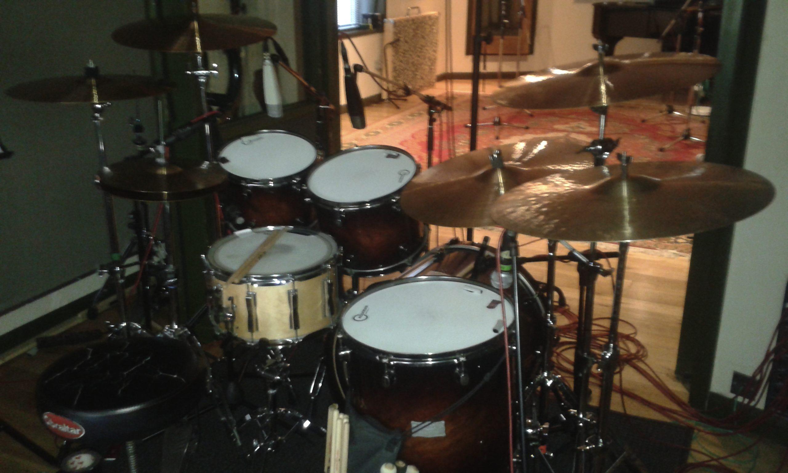 joe elliott s down n outz drum recording sessions for lp 3 phil. Black Bedroom Furniture Sets. Home Design Ideas