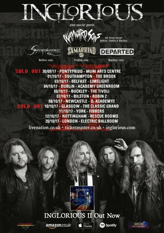 Phil Martini, Wayward Sons, Toby Jepson, Inglorious, Livenation, Frontiers Music, XRay Touring