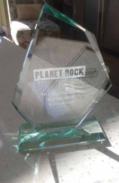 Wayward Sons, win 'Best New Band' award, Planet Rock Radio, landslide victory, Winter's End festival, Joe Elliott, Wyatt Wendels, Darren Reddick, Paul Antony, Jon Norman, Paiste cymbals, Vic Firth sticks, Mapex drums, Aquarian drumheads, Ludwig snares, Frontiers Music, X-Ray Touring, Toby Jepson, Phil Martini, Live drummer